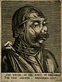 A character with a grotesque face. Line engraving. Wellcome V0007459ER.jpg