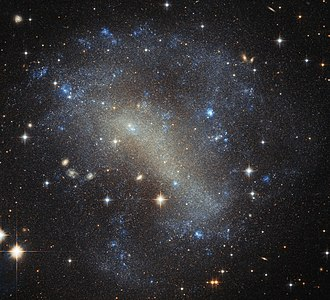 Irregular galaxy - Image: A frenzy of stars IC 4710
