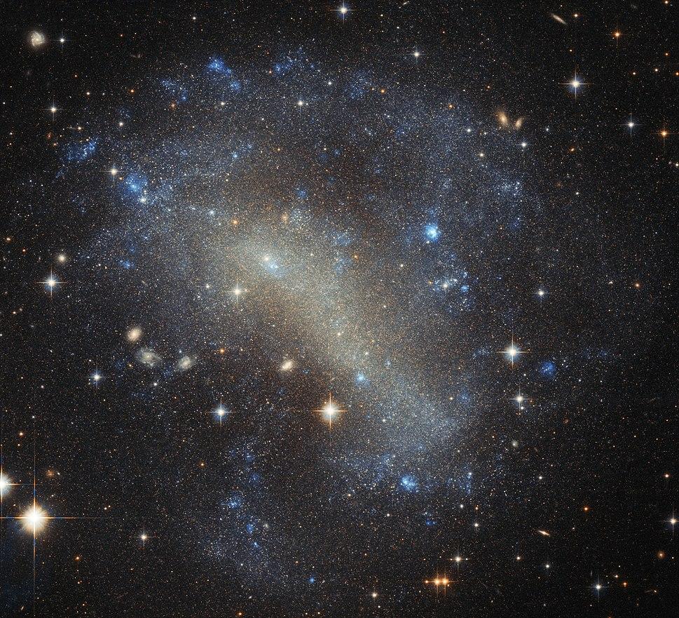 A frenzy of stars IC 4710