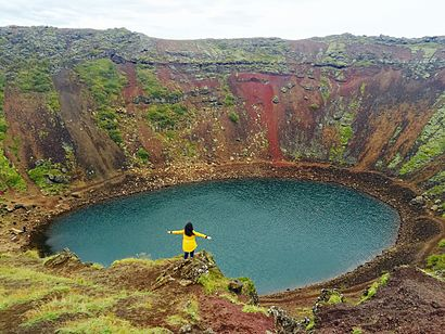 How to get to Kerið Crater with public transit - About the place
