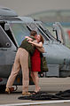 A husband and wife reunite after a six-month war deployment in the Middle East as pilots and air crewmen from Helicopter Anti Submarine Squadron Light Five One return to their home at Naval Air Facility Atsugi 030725-N-HX866-002.jpg