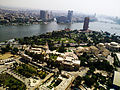 A shot taken from Cairo Tower that includes the Cairo Opera, Museum of Egyptian Modern Arts and the Nile.jpg