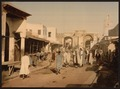 A street, Kairwan, Tunisia-LCCN2001699377.tif