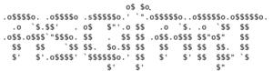 """ASCII art - """"Newskool"""" style"""