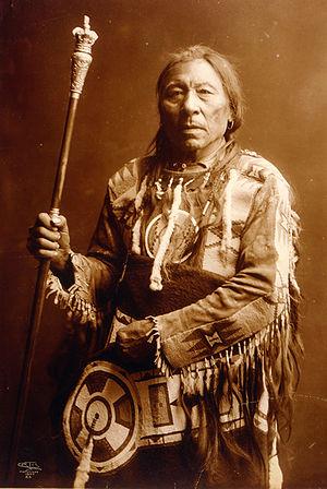 Siksika Nation - Image: Aatsista Mahkan LOC