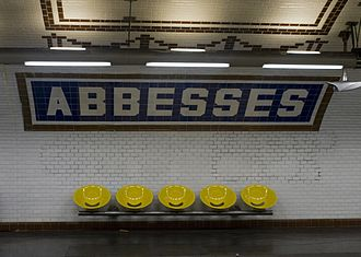 Abbesses (Paris Métro) - Abbesses station