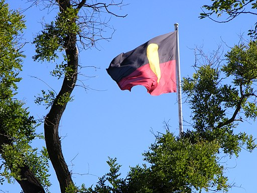 Aboriginal Flag - Victoria Square
