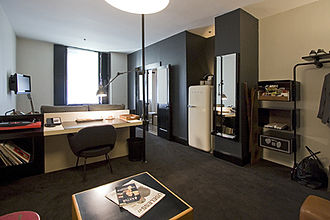 Ace Hotel - Guest room at Ace Hotel New York