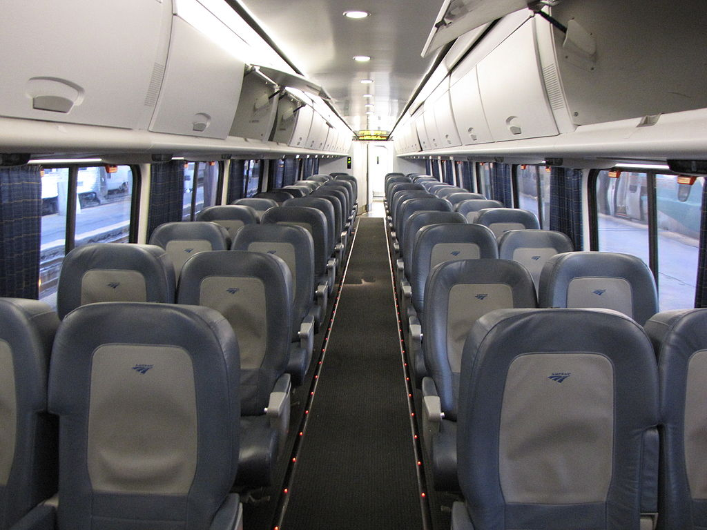 File Acela Express Business Class Interior With Overhead