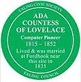 Ada Countess of Lovelace plaque.jpg