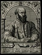 Adam Lonicerus. Line engraving by T. de Bry. Wellcome V0003695.jpg