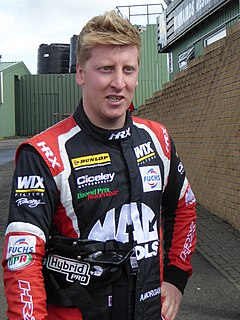Adam Morgan (racing driver) British Touring Car Championship driver