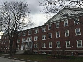 Adams Hall Bates College