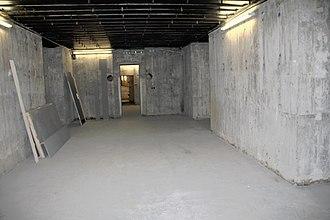 Adlerhorst - Inside the bunker under Kransberg Castle, part of Adlerhorst