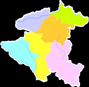 Anshun - Image: Administrative Division Anshun