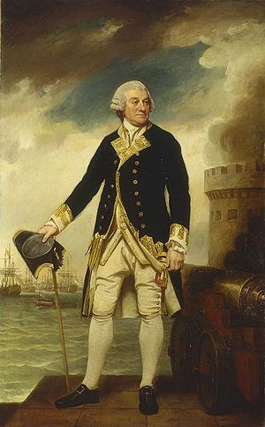 Sir Francis Geary, 1st Baronet - Image: Admiral Sir Francis Geary full length