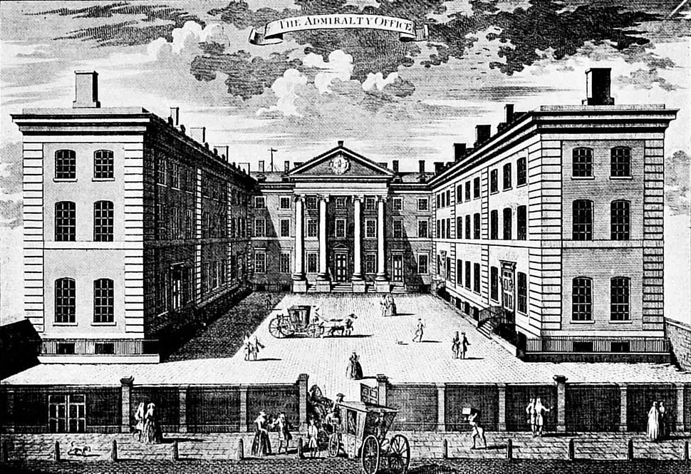 Admiralty office Whitehall 1760 D Cunego