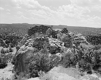 National Register of Historic Places listings in Rio Arriba County, New Mexico - Image: Adolfo Canyon Pueblito