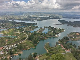 Aerial view at Guatape, Antioquia, Colombia.jpg