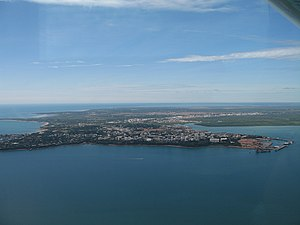 Darwin Harbour - Looking towards the city over Darwin Harbour