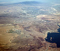 Aerial view of Las Vegas, Henderson, Boulder City (Nevada), Hoover Dam and Lake Mead - 12 June 2012.jpg