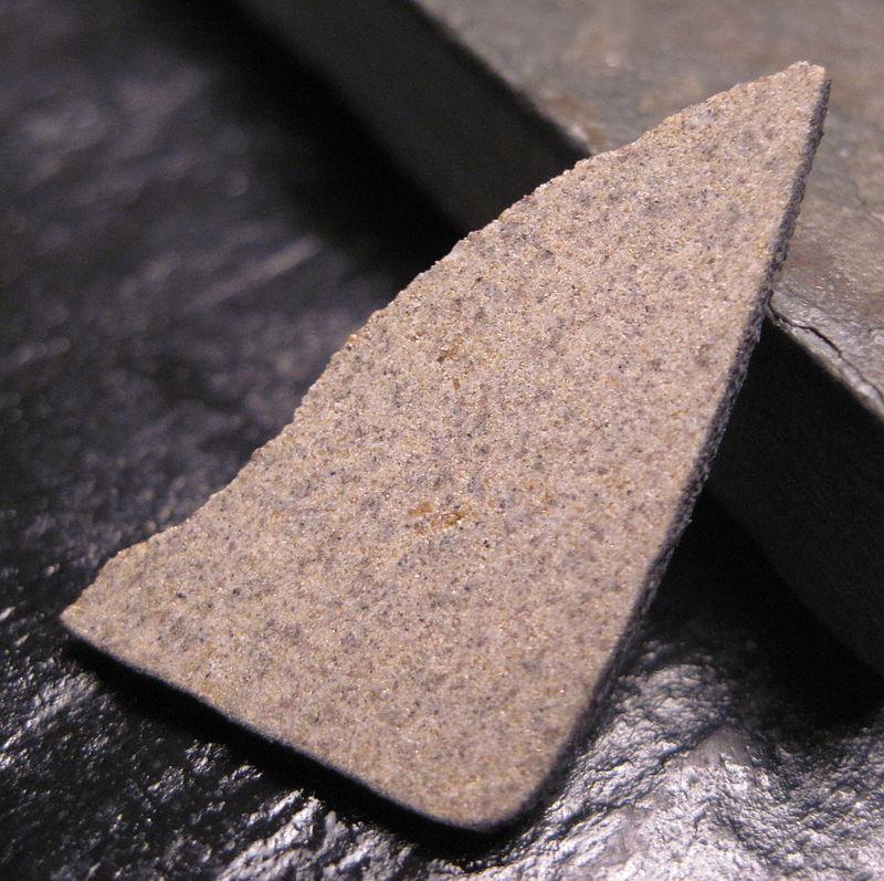 800px Agoult meteorite%2C unbrecciated eucrite%2C slice