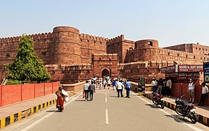 Agra Fort - Entry gates of the Agra Fort