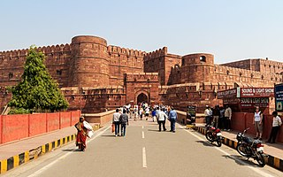 Agra Fort UNESCO World Heritage site in India