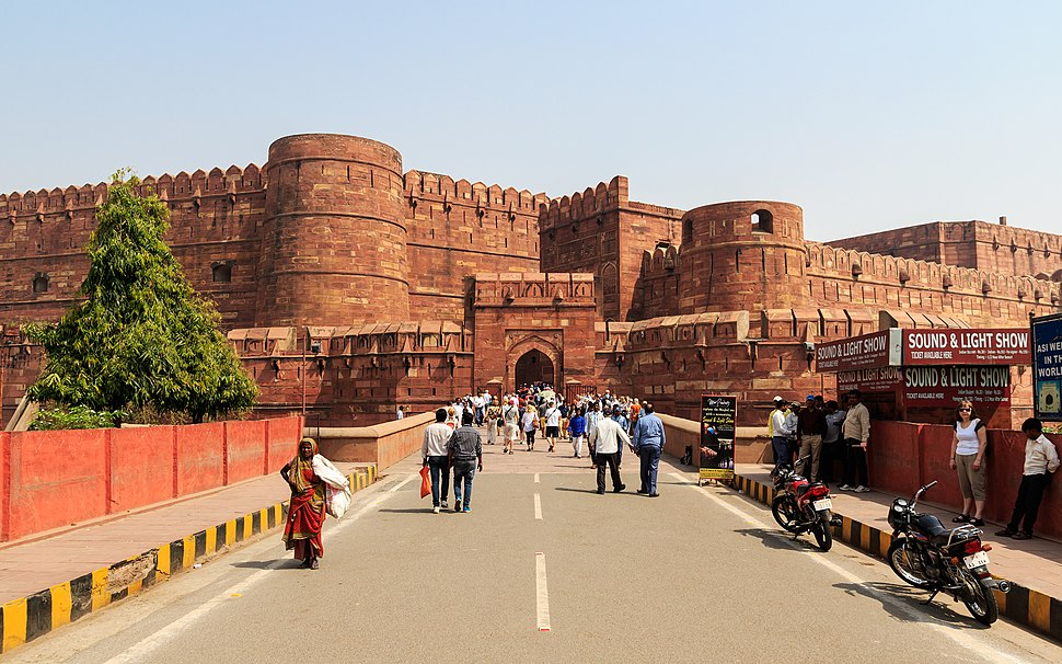 Agra 03-2016 10 Agra Fort