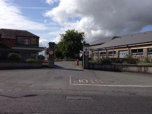 Aiken Barracks - Main Entrance to Aiken Barracks