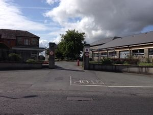 27 Infantry Battalion (Ireland) - Main Entrance to the Battalion's Headquarters at Aiken Barracks, Dundalk.