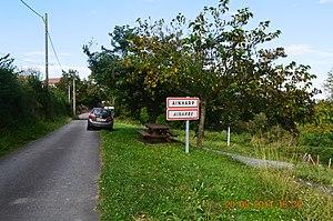 Ainharp - The road into Ainharp