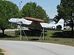 Air Force Jet in Airport Rd Business Park, Griffin.JPG