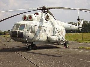 ドイツ民主共和国で運用されたMi-9 ドイツ民主共和国で運用されたMi-9 用途:空中指揮通信機
