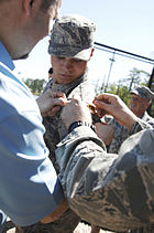Airman awarded ranger tab