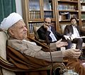 Akbar Hashemi Rafsanjani in his office (1).jpg