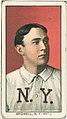 Al Bridwell, New York Giants, baseball card portrait LCCN2008676473.jpg