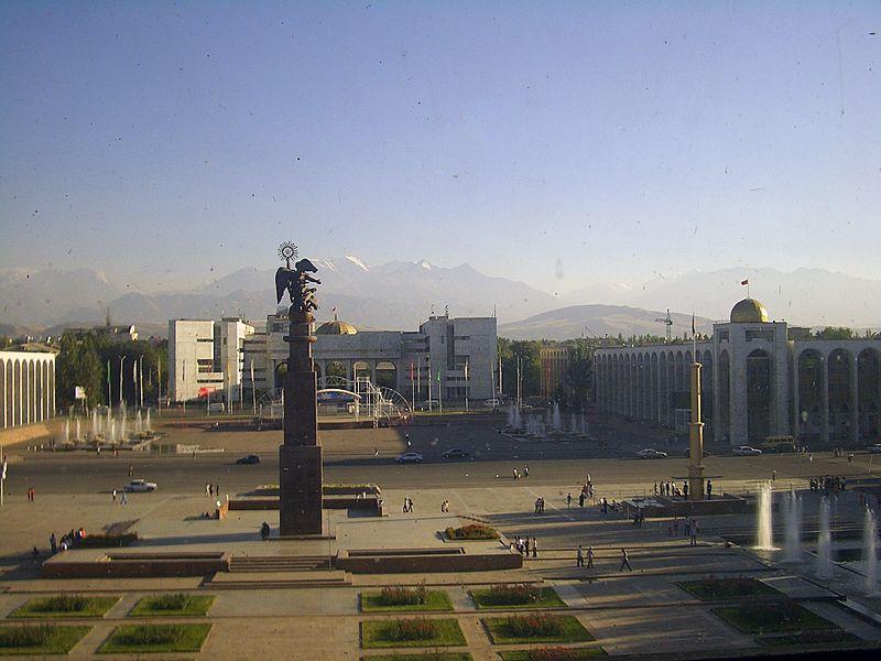 Ala-too Square in Bishkek, Kyrgyzstan, 2007-09-11 (color-corrected).jpg