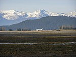Alaska Airlines with Mendenhall Wetlands 826.jpg