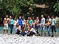 Albanian Students at Blini Park - Shala River - Into Lake Komani - Northern Albania (27754078397).jpg