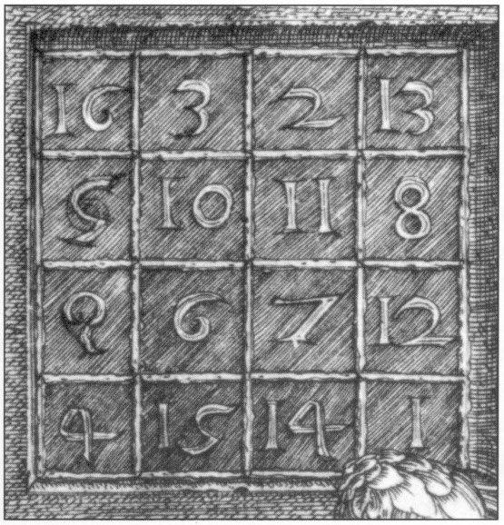 Albrecht Dürer - Melencolia I (detail)