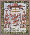 Alcalá de Henares (RPS 03-07-2007) escudo del arzobispo Pedro Tenorio, en azulejos.png