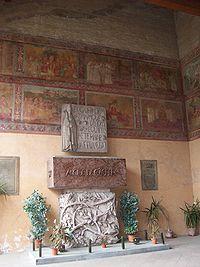 Alcide De Gasperi burial in San Lorenzo.jpg