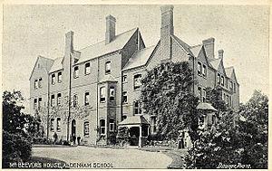 Aldenham School - Beevor's House c.1910