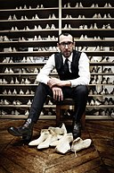 Alessandro Sartori Berluti Creative Director at Berluti Offices in Paris - June 2012.jpg