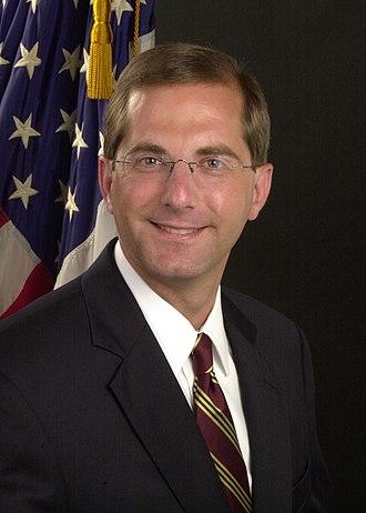 Alex Azar - Official Deputy Secretary portrait