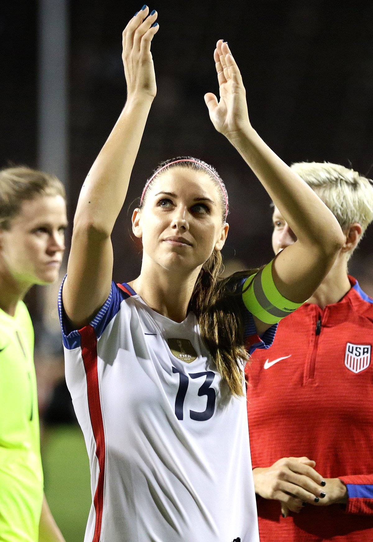 alex morgan Disney police video 'i can't imagine what black people go through' soccer superstar alex morgan was so upset when she was being kicked out of disney world, she told.