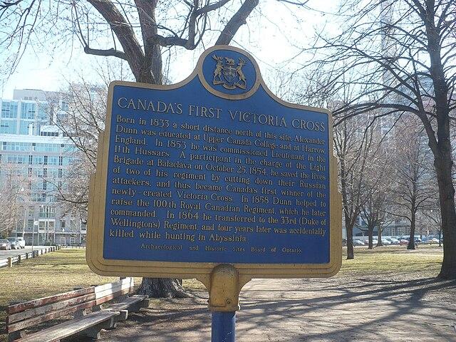 Photo of Alexander Dunn blue plaque