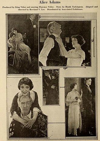 Alice Adams (1923 film) - Image: Alice Adams (1923 film)