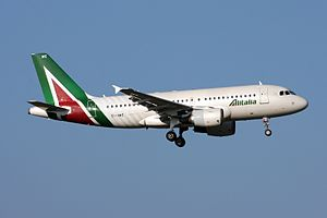 Alitalia - Alitalia Airbus A319-100